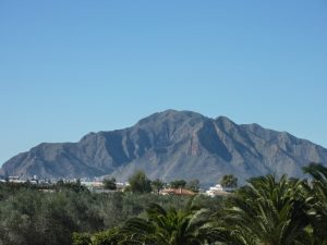 Mount Escotera, seel from Callosa de Segura. Photo credit JESUS FRSANCO