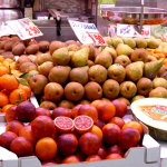 A tempting display of fruit at the market