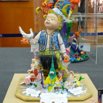 A Fallas figure. Seems a shame to burn it , doesn't it?