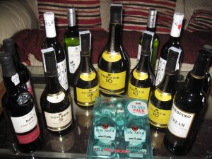 All our Christmas booze for €89 - a real bargain!