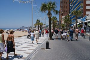 Benidorm - where Brits come looking for bargains