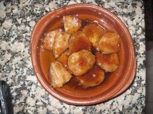Pork loin La Murta style - wonderful!