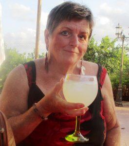 Sandra in Spain